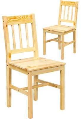 Soldes - Lot de 2 Chaises