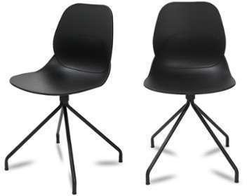 Lot de 2 chaises design Doki-Doki