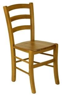 Chaises hêtre Venise assise