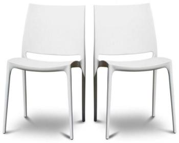 Lot de 2 chaises design Tessa