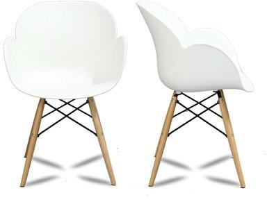 Lot de 2 chaises design Ki-oon