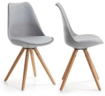 Lot de 2 chaises design Ralf