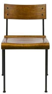 Lot de 2 chaises design écolier