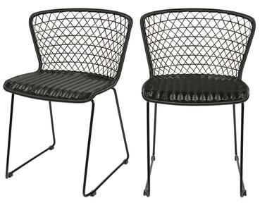 Lot de 2 chaises de jardin