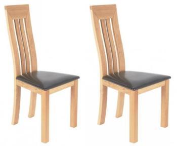 Chaise chêne moderne Vancouver