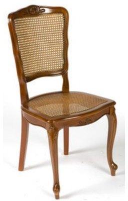 Chaise cannée style Régence