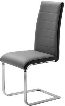 Chaise grise et noire top