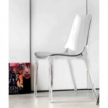 Chaise transparente Lypo