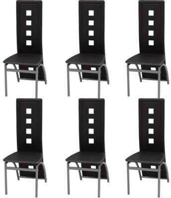 VidaXL Chaises de salle à