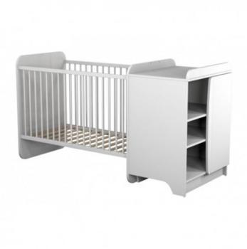 lit combin avec bureau et rangement couchage 90x190cm lino. Black Bedroom Furniture Sets. Home Design Ideas