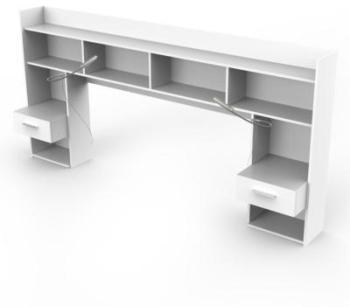 environnement de lit perrine. Black Bedroom Furniture Sets. Home Design Ideas