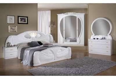Chambre complète Paola blanche