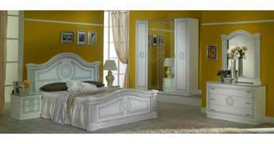 Chambre complète Solene blanche