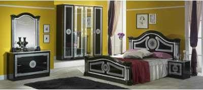 Chambre complète Solene noir