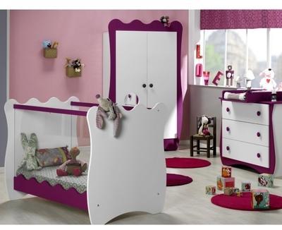 Chambre bébé Doudou Prune