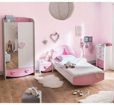 Chambre enfant féérie rose