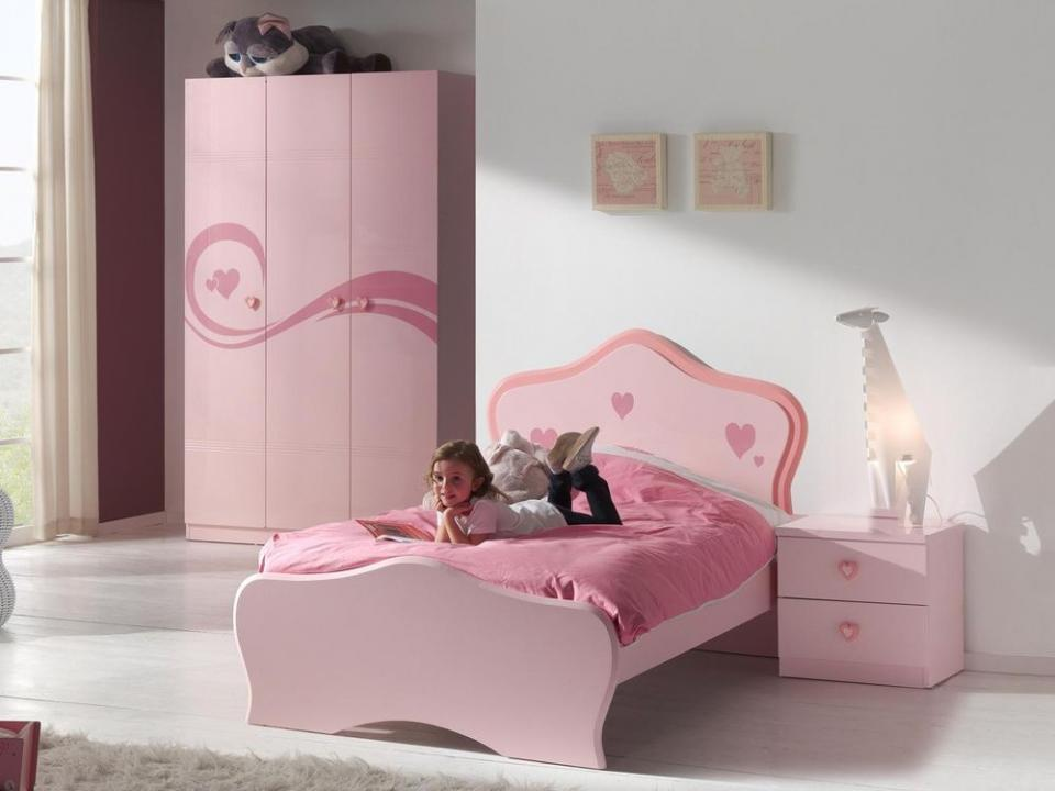 Chambre complète IZZY rose