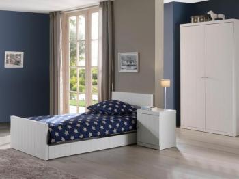 Chambre complète ROLAND blanc