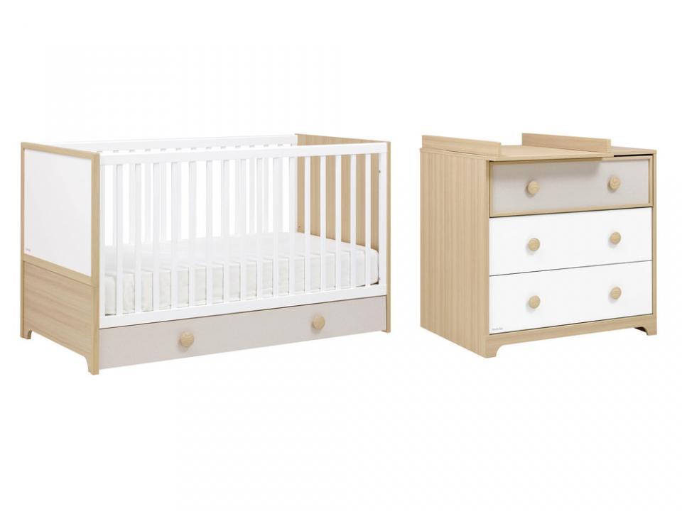 p matelas our bb duo confort 120x60x12 tit lit. Black Bedroom Furniture Sets. Home Design Ideas
