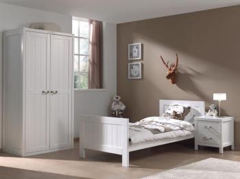 Chambre complète LEMMY blanc
