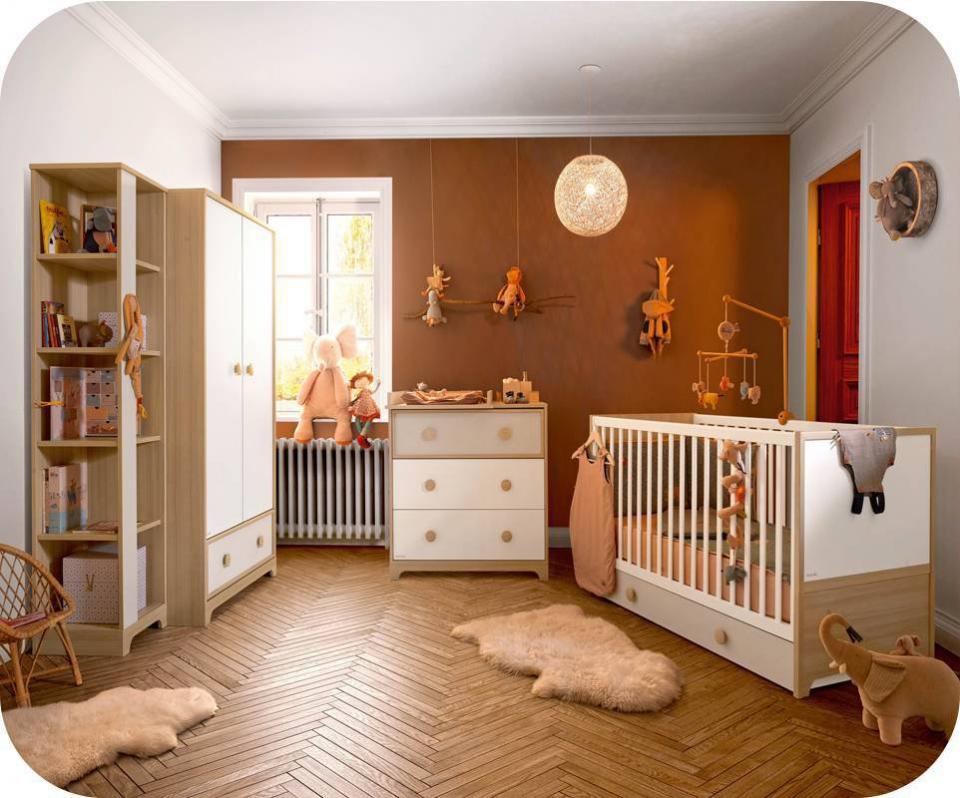 Catgorie chambres denfants compltes du guide et comparateur d 39 achat - Chambre blanche et bois ...