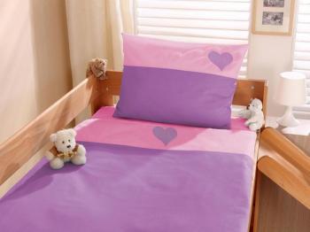 terre lit enfant 90x190 200 lila et blanc megve lt1016. Black Bedroom Furniture Sets. Home Design Ideas