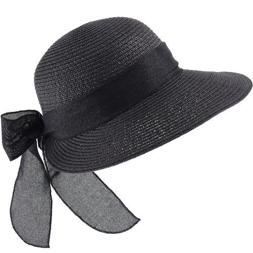 baisers sales chapeau semi capeline paille. Black Bedroom Furniture Sets. Home Design Ideas