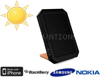 Chargeur solaire 2000mAh et