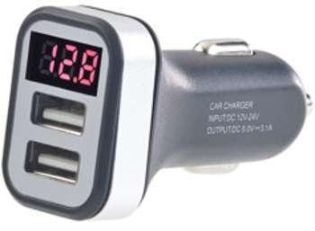 Chargeur USB 12V avec avertisseur