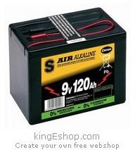6AS3 120B Air Alcaline 9 Volts