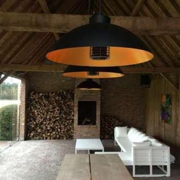 Luminaire chauffant Dome Suspendu