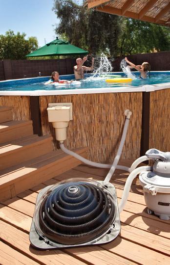 Réchauffeur piscine solaire