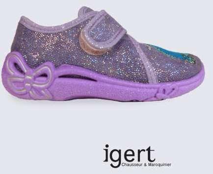 27c6f5f21942d chausson garcon superfit kaki