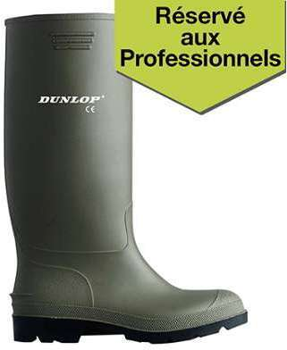 Bottes de travail PVC Dunlop