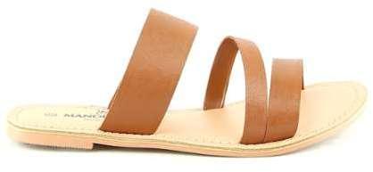 Sandales en Cuir et Velours de Cuir Umberta camel/turquoise Talon 8 cm fl2GAPx