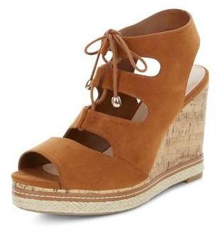 Chaussures Wide Fit compensées