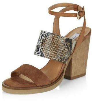 Chaussures à talons bloc Premium