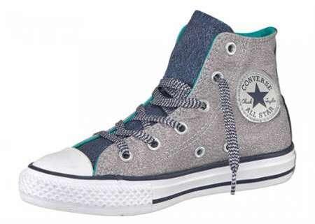 68c37a7eca554 Converse Sneakers montantes Dainty She Mid en cuir noir