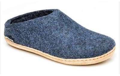 Mules Glerups Blue Jean