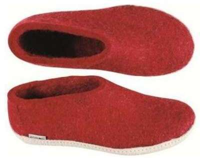 Chaussons rouges A08