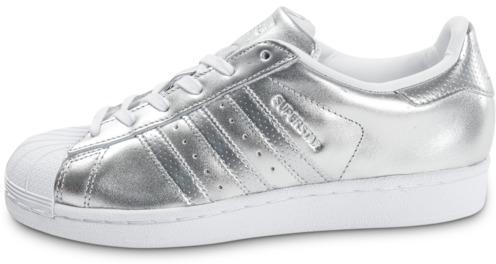 Soldes adidas Superstar Argentée