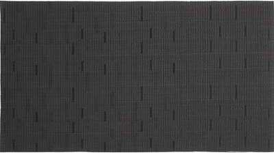 Set de table en vinyle noir
