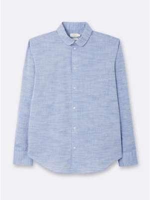 Chemise ajustée homme coton