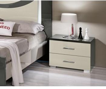 Chevet design 2 tiroirs -