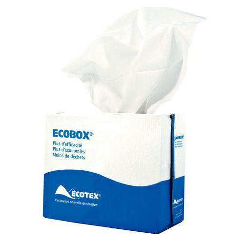 Chiffon non-tissé Ecobox blanc