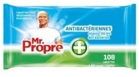 108 lingettes antibacterien