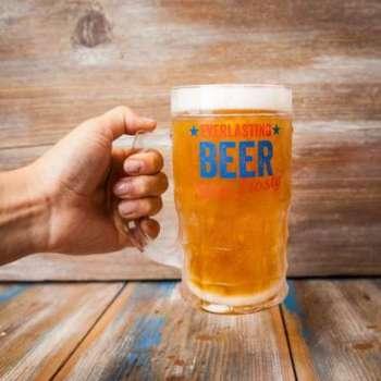 Verre à Bière Toujours Plein