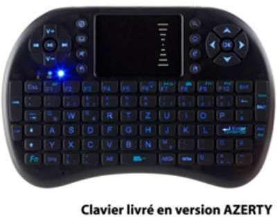 Mini clavier multimédia sans