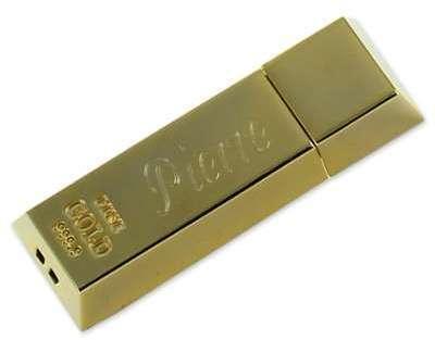 Clé USB 8Go lingot d or personnalisée