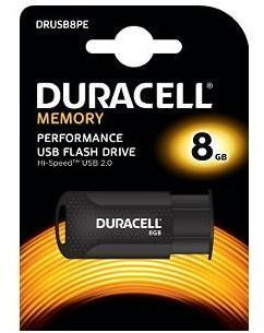Clé USB 2 0 Duracell 8GB Flash